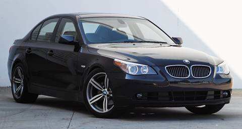 2007 BMW 5 Series for sale at BAVARIAN AUTOGROUP LLC in Kansas City MO