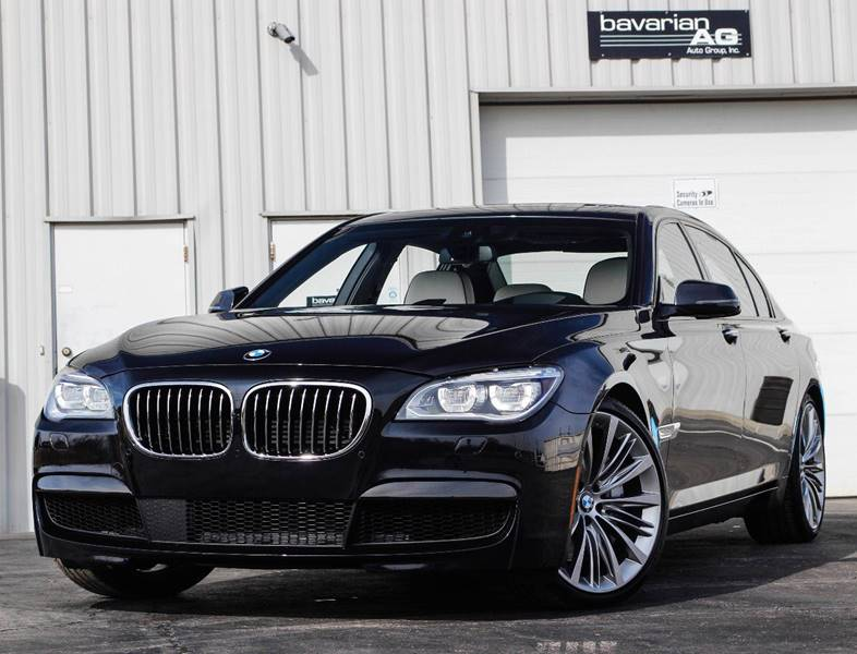 2015 BMW 7 Series for sale at BAVARIAN AUTOGROUP LLC in Kansas City MO