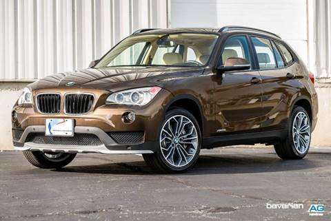 2015 BMW X1 for sale at BAVARIAN AUTOGROUP LLC in Kansas City MO