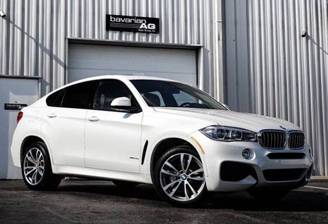 2015 BMW X6 for sale at BAVARIAN AUTOGROUP LLC in Kansas City MO