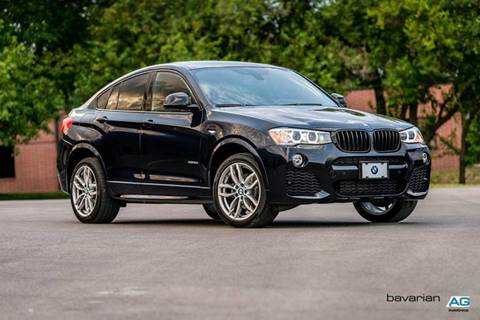 2016 BMW X4 for sale at BAVARIAN AUTOGROUP LLC in Kansas City MO