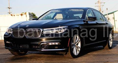 2016 BMW 7 Series for sale at BAVARIAN AUTOGROUP LLC in Kansas City MO