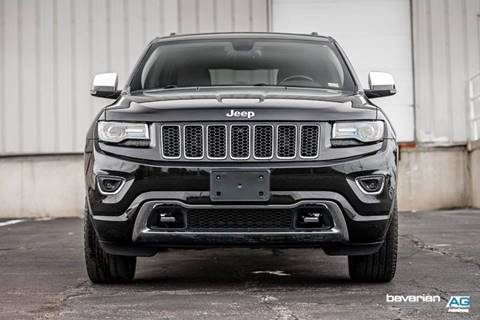 2014 Jeep Grand Cherokee for sale at BAVARIAN AUTOGROUP LLC in Kansas City MO