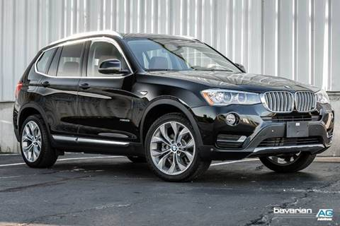 2017 BMW X3 for sale at BAVARIAN AUTOGROUP LLC in Kansas City MO
