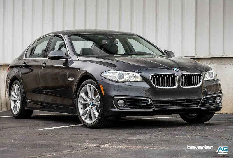 2016 BMW 5 Series for sale at BAVARIAN AUTOGROUP LLC in Kansas City MO