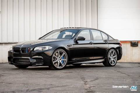 2015 BMW M5 for sale at BAVARIAN AUTOGROUP LLC in Kansas City MO