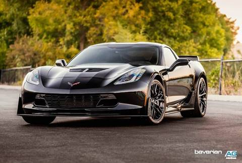 2017 Chevrolet Corvette for sale at BAVARIAN AUTOGROUP LLC in Kansas City MO