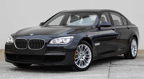 2014 BMW 7 Series for sale at BAVARIAN AUTOGROUP LLC in Kansas City MO