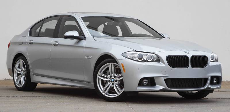 2015 BMW 5 Series for sale at BAVARIAN AUTOGROUP LLC in Kansas City MO