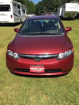 2007 Honda Civic for sale in East Middlebury, VT