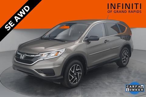 2016 Honda CR V For Sale In Grand Rapids, MI