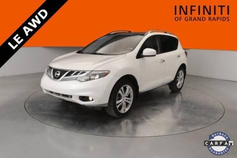2011 Nissan Murano LE for sale at Infiniti of Grand Rapids in Grand Rapids MI