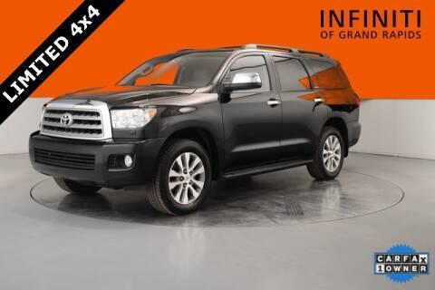 2017 Toyota Sequoia Limited for sale at Infiniti of Grand Rapids in Grand Rapids MI