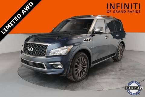 2017 Infiniti QX80 Limited for sale at Infiniti of Grand Rapids in Grand Rapids MI