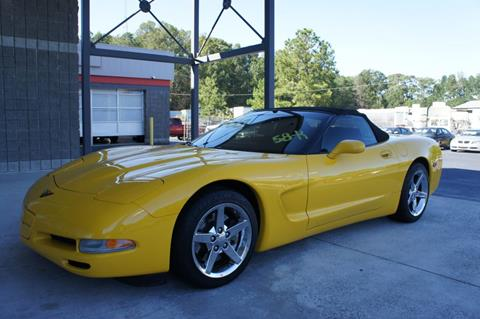 2001 Chevrolet Corvette for sale in Griffin, GA