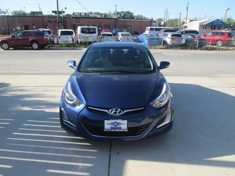 2016 Hyundai Elantra for sale in Temple Hills, MD