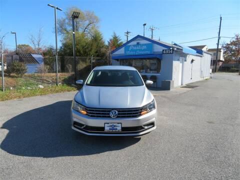 2016 Volkswagen Passat for sale in Temple Hills, MD