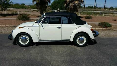 1978 Volkswagen Super Beetle for sale at Ryan Richardson Motor Company in Alamogordo NM