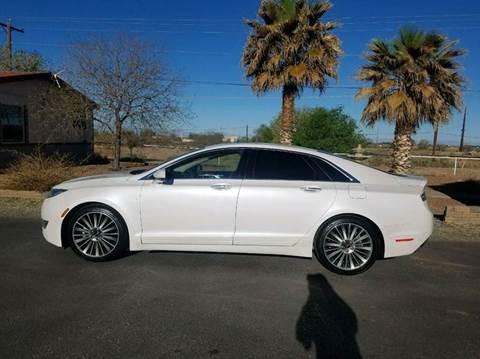 2013 Lincoln MKZ for sale at Ryan Richardson Motor Company in Alamogordo NM