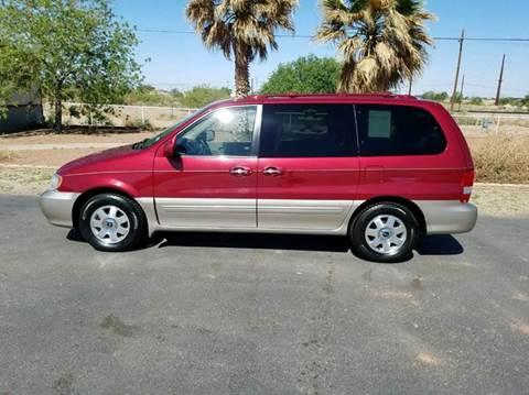 2003 Kia Sedona for sale at Ryan Richardson Motor Company in Alamogordo NM
