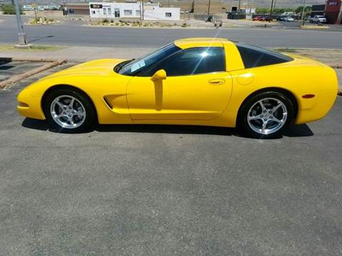 2003 Chevrolet Corvette for sale at Ryan Richardson Motor Company in Alamogordo NM
