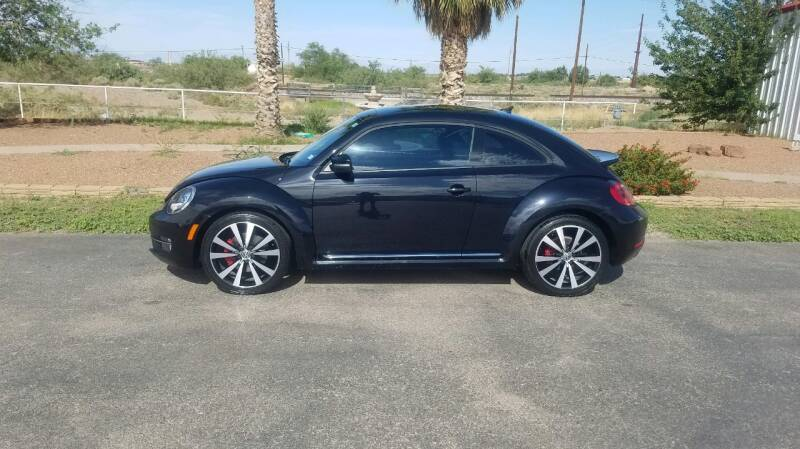 2013 Volkswagen Beetle Turbo PZEV Fender Edition 2dr Coupe 6A (ends 1/13) - Alamogordo NM