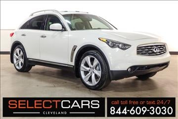 2009 Infiniti FX50 for sale in Cleveland, OH