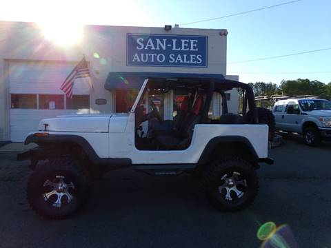 1994 Jeep Wrangler for sale in Sanford, NC