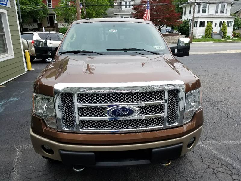 2012 Ford F-150 4x4 Lariat 4dr SuperCrew Styleside 5.5 ft. SB - New Cumberland PA