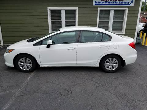 2012 Honda Civic for sale in New Cumberland, PA