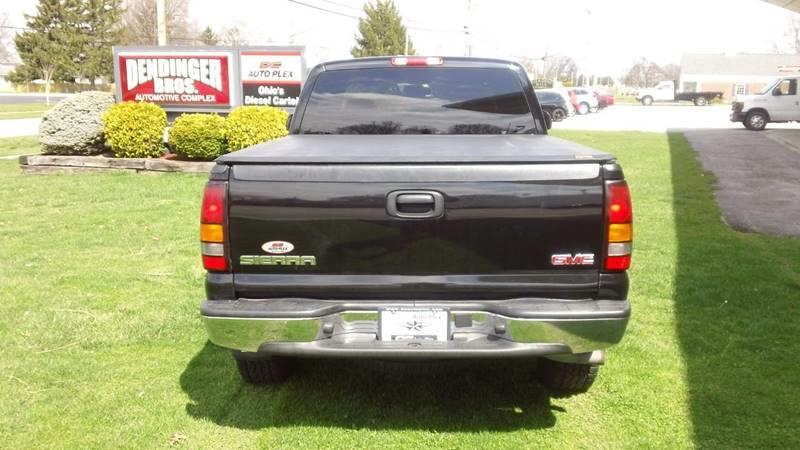 2005 GMC Sierra 1500 4dr Extended Cab SLE 4WD SB - Bellevue OH