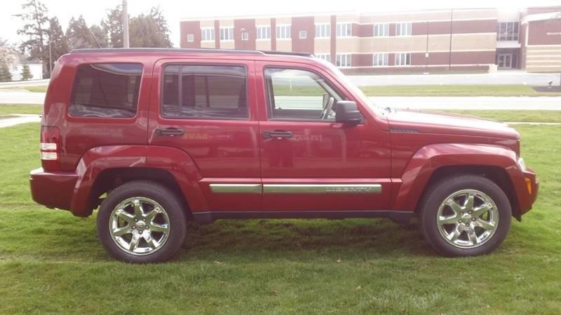 2008 Jeep Liberty 4x4 Limited 4dr SUV - Bellevue OH