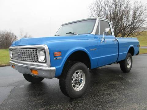1972 Chevrolet C/K 20 Series for sale at Performance Motor Sports in Pacific MO