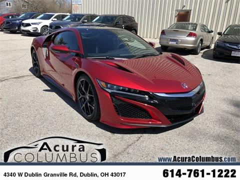 2018 Acura NSX for sale in Dublin, OH