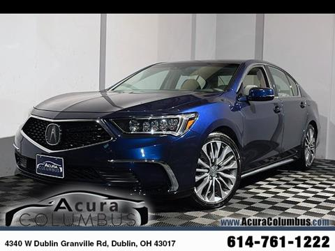 2018 Acura RLX for sale in Dublin, OH