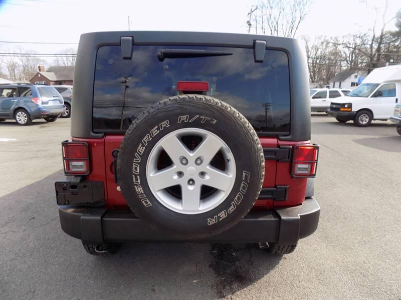 2013 Jeep Wrangler Unlimited Sport (image 10)