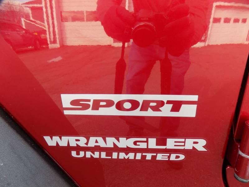 2013 Jeep Wrangler Unlimited Sport (image 13)
