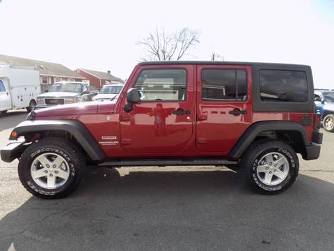 2013 Jeep Wrangler Unlimited Sport for sale at 9W AUTO SALES in Saugerties NY