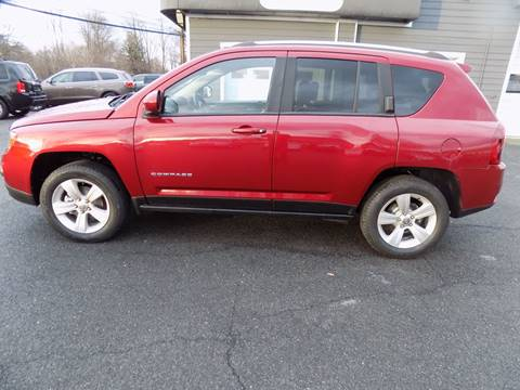 2016 Jeep Compass Latitude for sale at 9W AUTO SALES in Saugerties NY