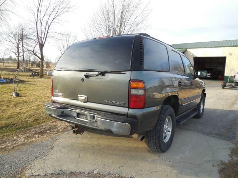 2002 Chevrolet Tahoe LS 4WD 4dr SUV - Barnett MO