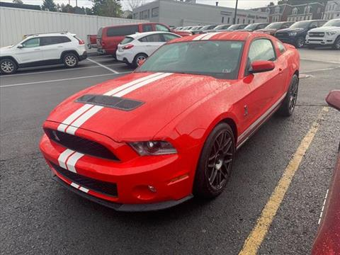 2012 Ford Shelby GT500 for sale in Pottsville, PA