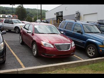 2011 Chrysler 200 for sale in Pottsville, PA