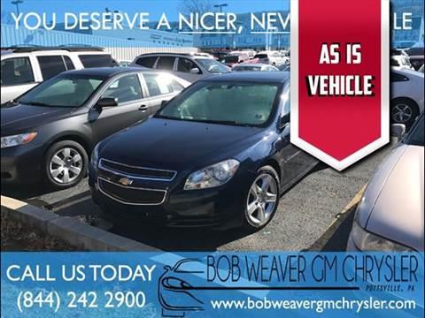 2011 Chevrolet Malibu for sale in Pottsville, PA