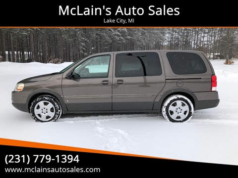 2009 Pontiac Montana SV6 for sale in Lake City, MI