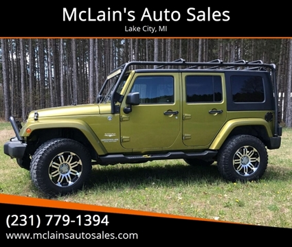 2008 Jeep Wrangler Unlimited for sale in Lake City, MI