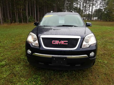 2009 GMC Acadia for sale at McLain's Auto Sales in Lake City MI