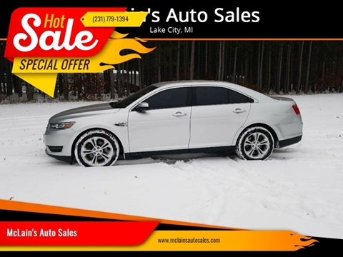 2015 Ford Taurus for sale in Lake City, MI