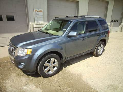 2011 Ford Escape for sale at McLain's Auto Sales in Lake City MI