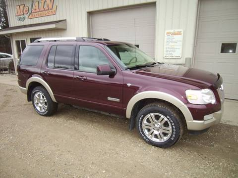 2007 Ford Explorer for sale at McLain's Auto Sales in Lake City MI