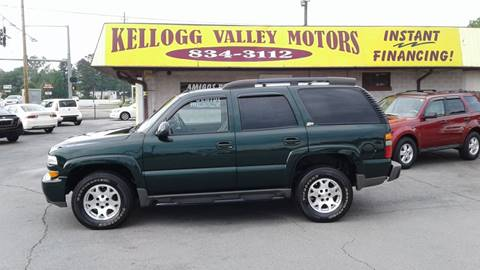 2004 Chevrolet Tahoe for sale at Kellogg Valley Motors in Gravel Ridge AR